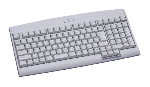 富士通コンポーネント カーブド構造(カーブドステップスカルプチャ)省スペースキーボード USB・106キー日本語配列・ライトグレー FKB8811-656