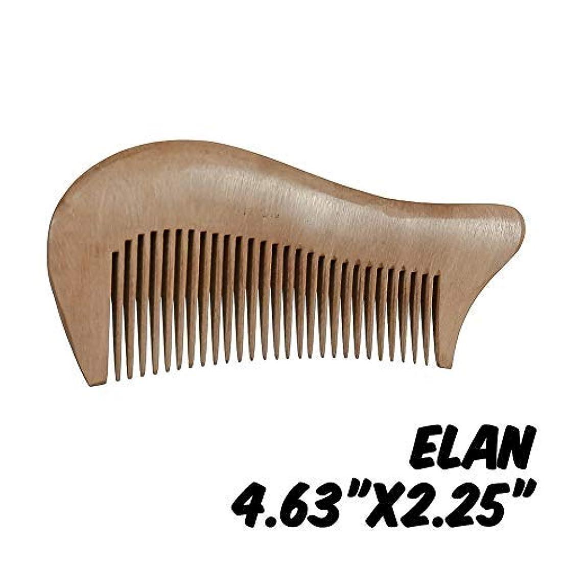 Markin Arts Elan Series Handmade Natural Organic Indian Lilac Wood Anti-Static Hypoallergenic Pocket Handle Dry...