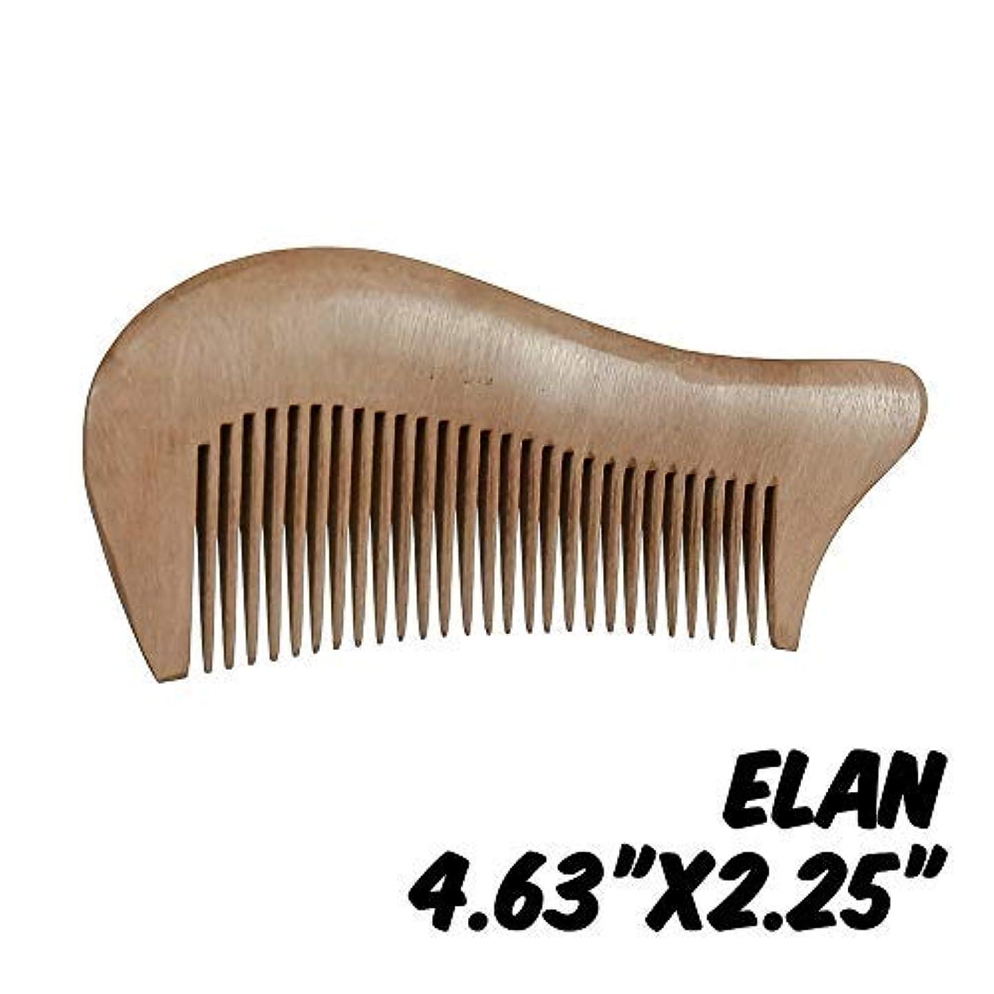 誰が粘液弱点Markin Arts Elan Series Handmade Natural Organic Indian Lilac Wood Anti-Static Hypoallergenic Pocket Handle Dry...