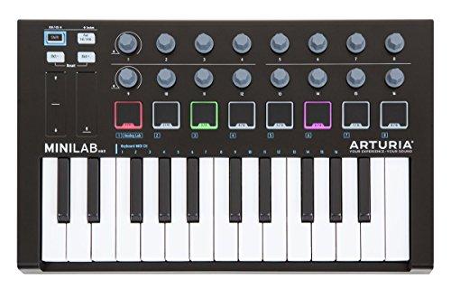 ARTURIA MIDIキーボード コントローラー MiniLab MK II Black Edition