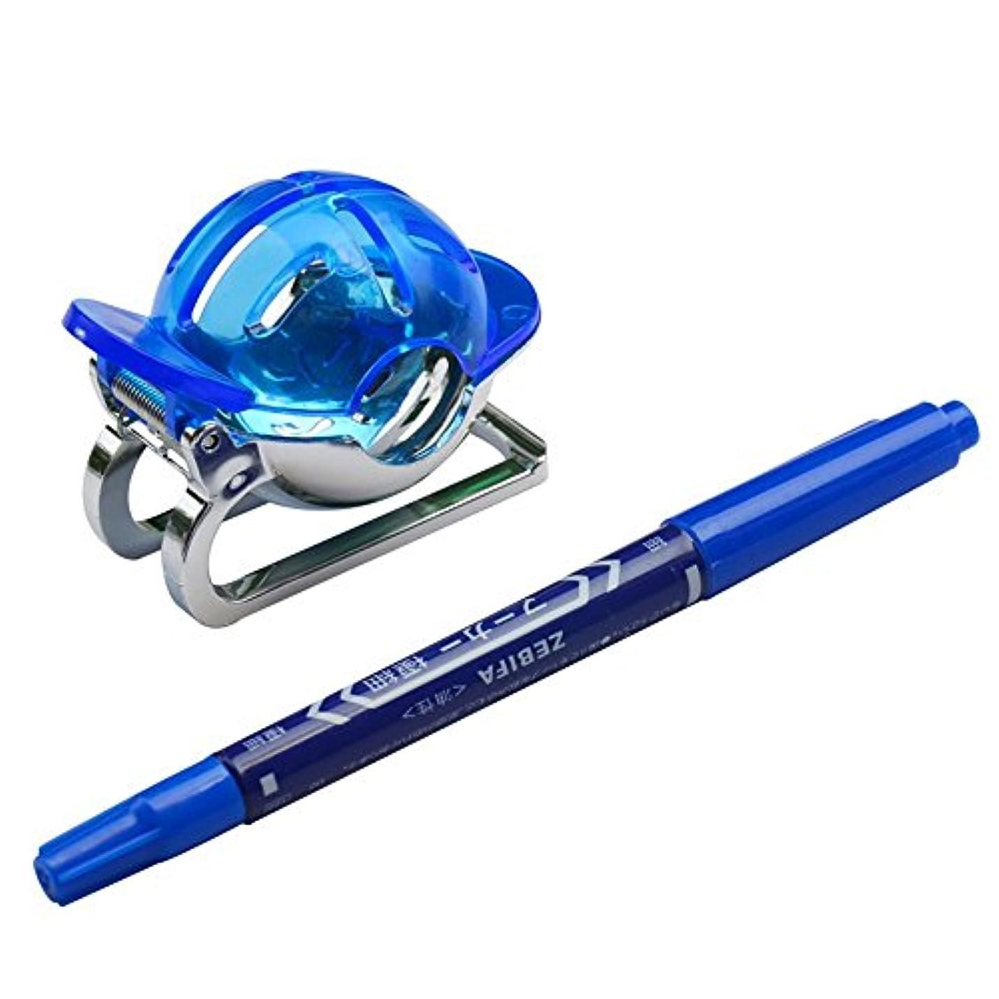 山岳分解する中傷Grandmart ゴルフ ボールラインマーカー マーカーペン付き  パッティング練習器 軽量 持ち運び便利
