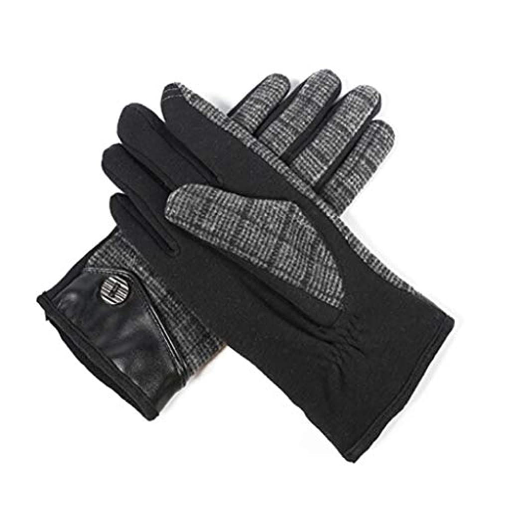瞬時に調和堀暖かいメンズサイクリング用手袋を保つための男性用手袋プラスベルベットの秋冬用手袋