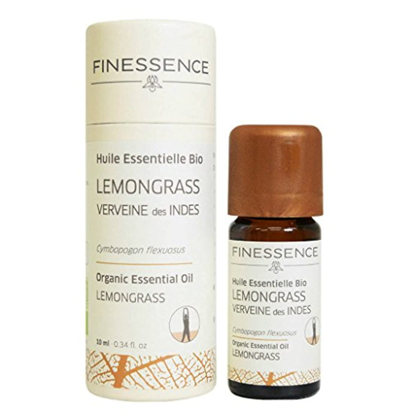 ブルエキスパート流用するフィネッサンス (FINESSENCE) オーガニックエッセンシャルオイル レモングラス 10ml