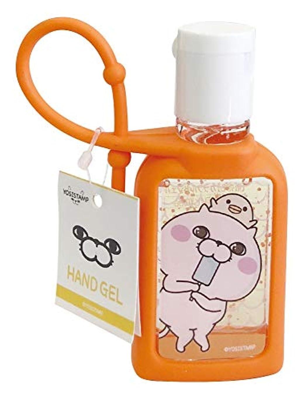 ベール節約入るヨッシースタンプ ハンドジェル 携帯用 ぬこアイス 無香料 30ml ABD-022-002