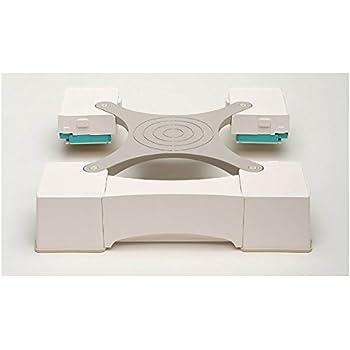新生産業 64cm角防水パン専用洗濯機かさ上げ台(ホワイト)マルチメゾン MM6-WG701