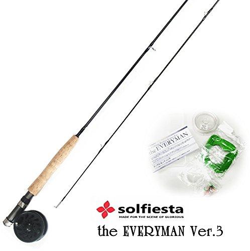 [해외]SOLFIESTA (솔 피에스타) 플라이 낚시 세트 양반 ver.3 2800 # 4/SOLFIESTA (Sol Fiesta) Fly Fishing Set Every Man Ver.3 2800 # 4