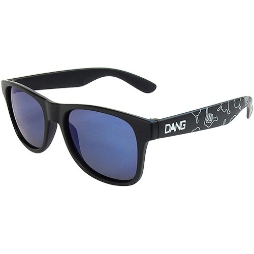 ダン・シェイディーズ ロコ LOCO Black Matte X Blue Mirror Polarized with HANG LOOSE Polarized DANGSHA...