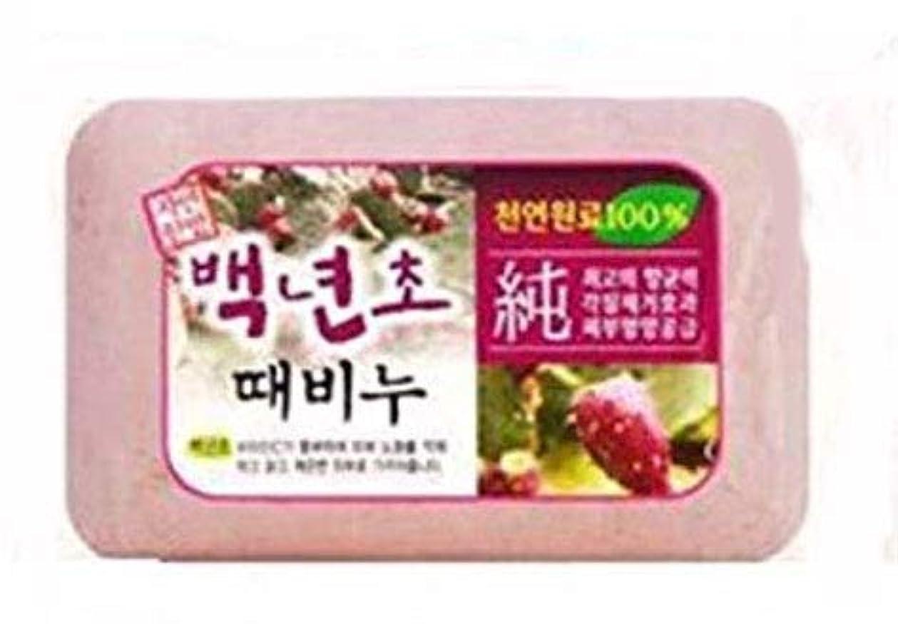 水を飲むアジア人本物のアカスリは肌を鍛えることです、垢すりが好きな方用、垢すり石鹸 百年草