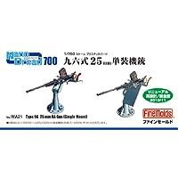 ファインモールド 1/700 ナノ・ドレッドシリーズ 九六式25mm単装機銃 プラモデル用パーツ WA21