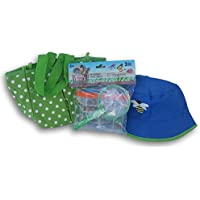 Greenbrier International Kids' Outdoor Playset Bug Catching Set - Catching Kit, Tote, and Bucket Hat