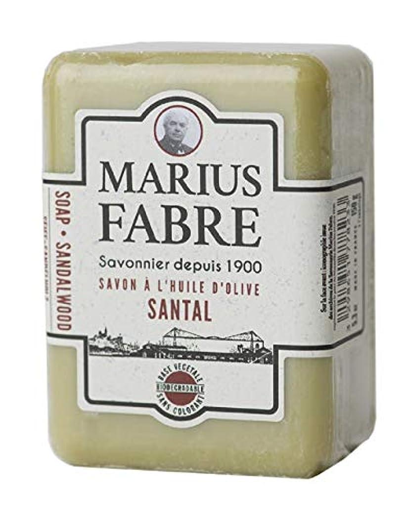 のり邪魔する楽なサボンドマルセイユ 1900 サンダルウッド 150g
