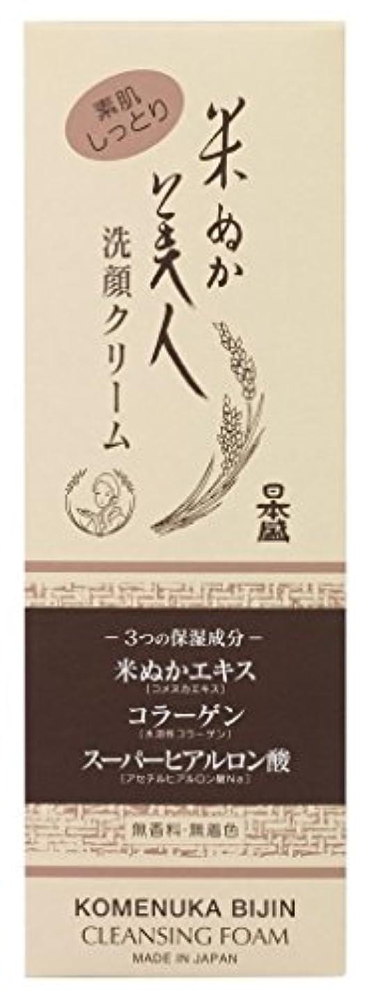具体的に慈善役割米ぬか美人 洗顔クリーム
