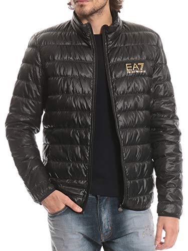 エンポリオ アルマーニ イーエーセブン EMPORIO ARMANI EA7 胸ロゴプリント 無地 フルジップ ダウンブルゾン EA8NPB01PN29Z 並行輸入品
