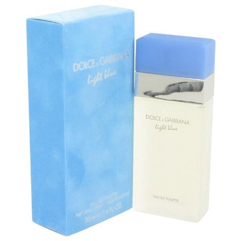 滑るパッケージ近代化ドルチェ & ガッバーナ ライト ブルー EDT スプレー 50ml 並行輸入品