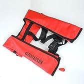 GENESIS(ジェネシス) 自動膨張式ライフジャケット ベストタイプ FV-1035 カモフラージュ フリー