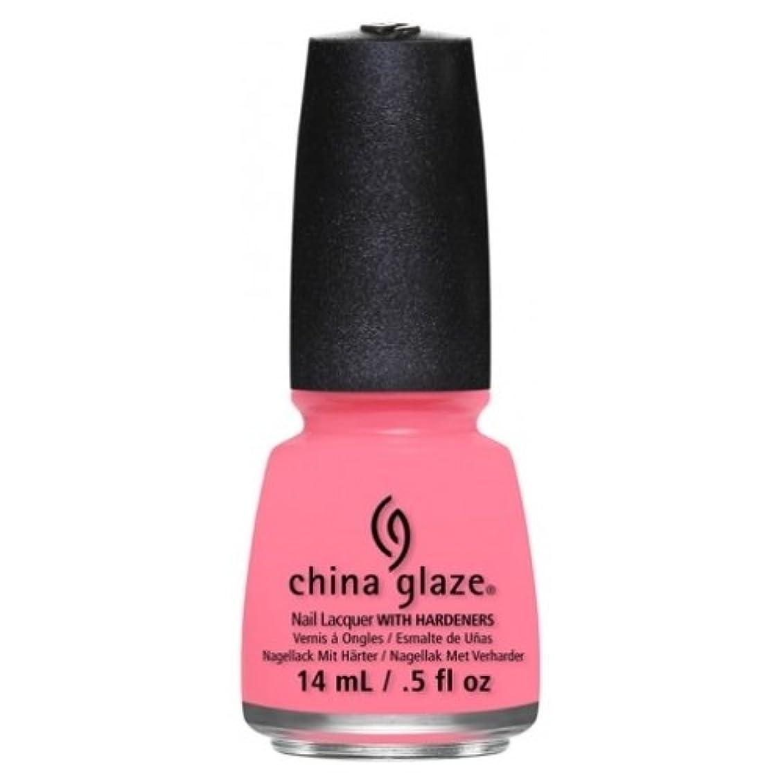 人間正規化トチの実の木CHINA GLAZE Nail Lacquer - Art City Flourish - Petal To The Metal (並行輸入品)