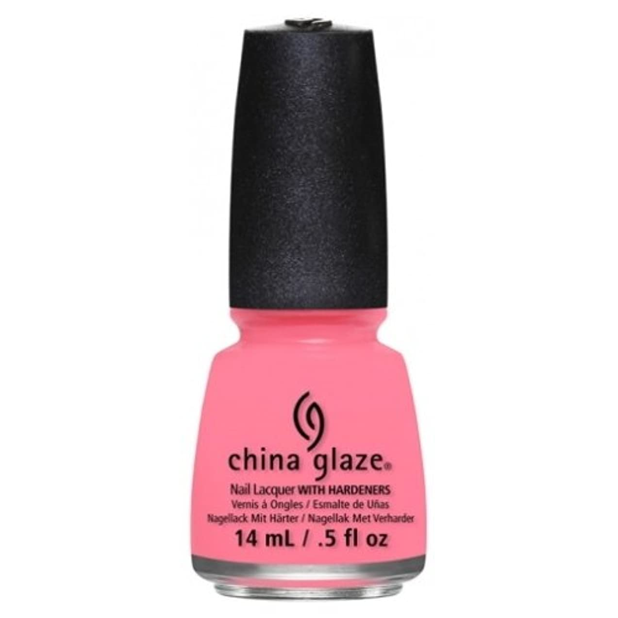 しないでください準備した超えてCHINA GLAZE Nail Lacquer - Art City Flourish - Petal To The Metal (並行輸入品)
