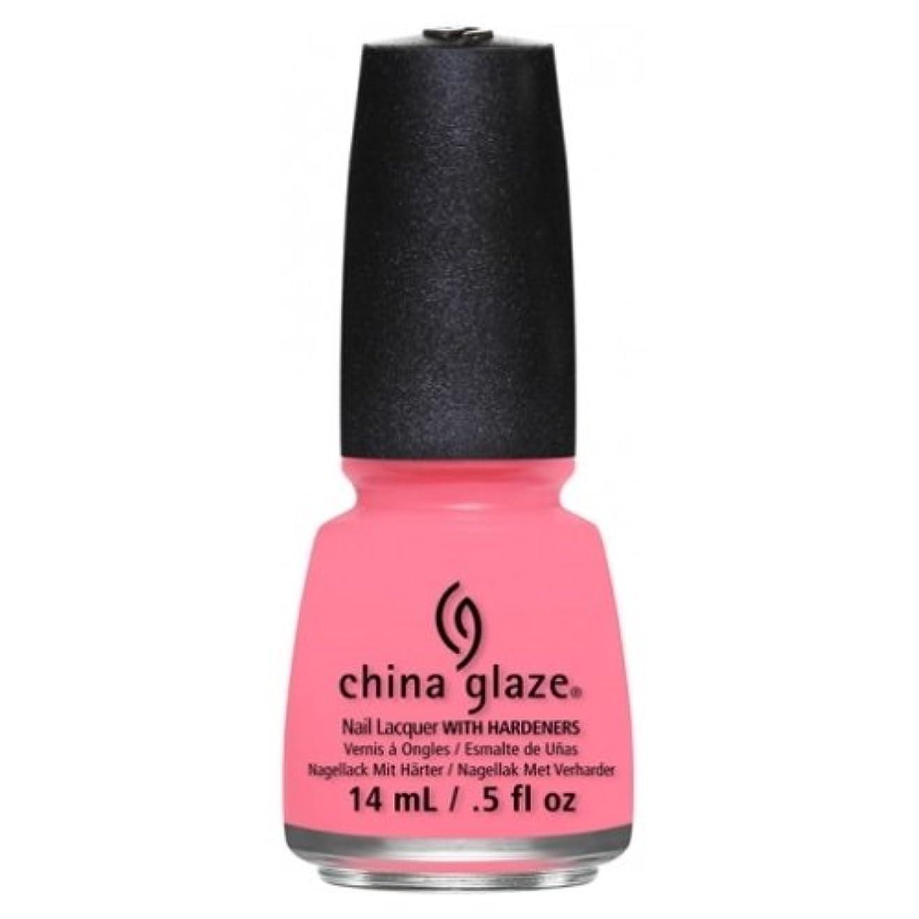 可聴石鹸アルファベット順CHINA GLAZE Nail Lacquer - Art City Flourish - Petal To The Metal (並行輸入品)