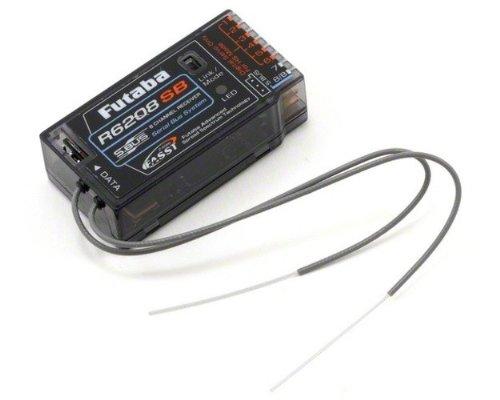 Futaba R6208SB 3CH/18CH 2.4Ghz FASST S.Bus Micro Receiver ラジコン (並行輸入)
