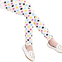 Misaky baby care Little Girls' Misaky Pencil Pants Classic Leggings 2-13Years
