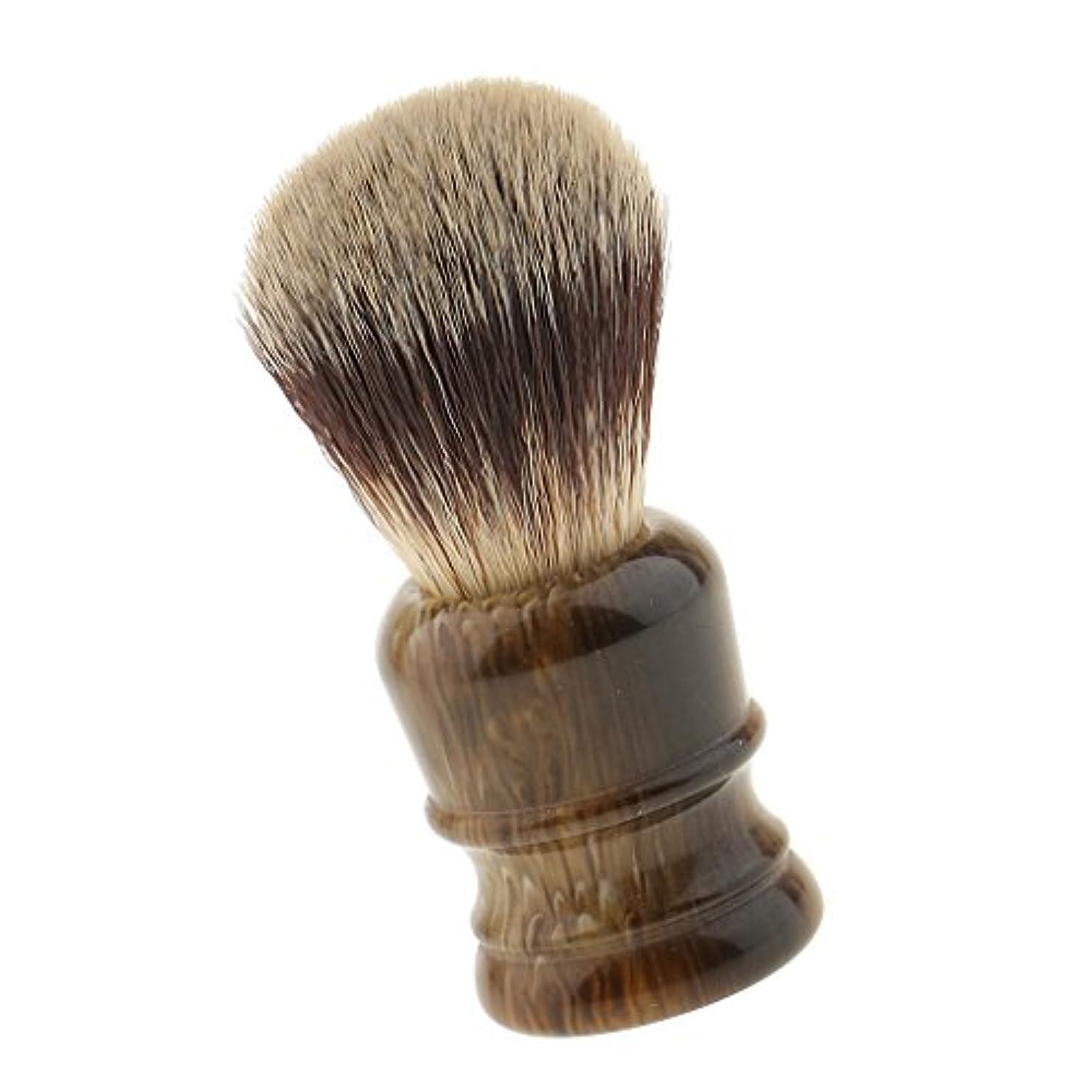 気になる段階トランクライブラリシェービング用 ブラシ シェービングブラシ ファイン模倣 理容 洗顔 髭剃り ギフト