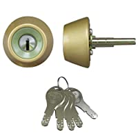 LIXIL(リクシル) TOSTEM ドア錠セット(GOAL D9シリンダー) シルバー DCZZ3307