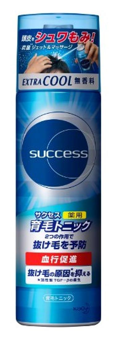 みすぼらしいバターミュウミュウサクセス薬用育毛トニック エクストラクール 無香料/180g