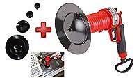 Rothenberger Industrial 1500000006圧縮空気パイプクリーナー、赤