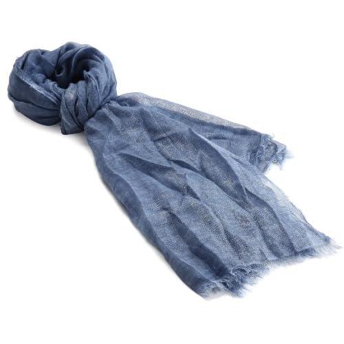 (ファリエロ サルティ)Faliero Sarti スカーフ Novita I13-0080 29679 blue FREE