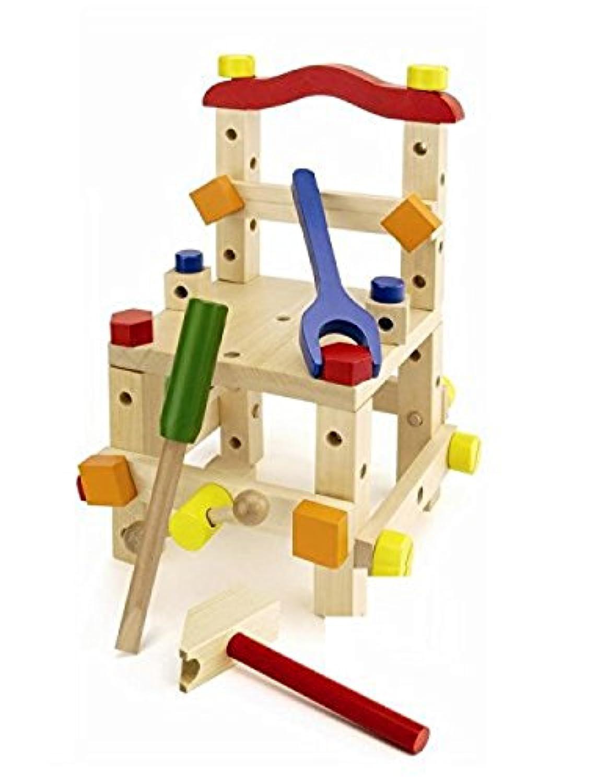大工さん マルチコンストラクションセット KT-CS 木のおもちゃ