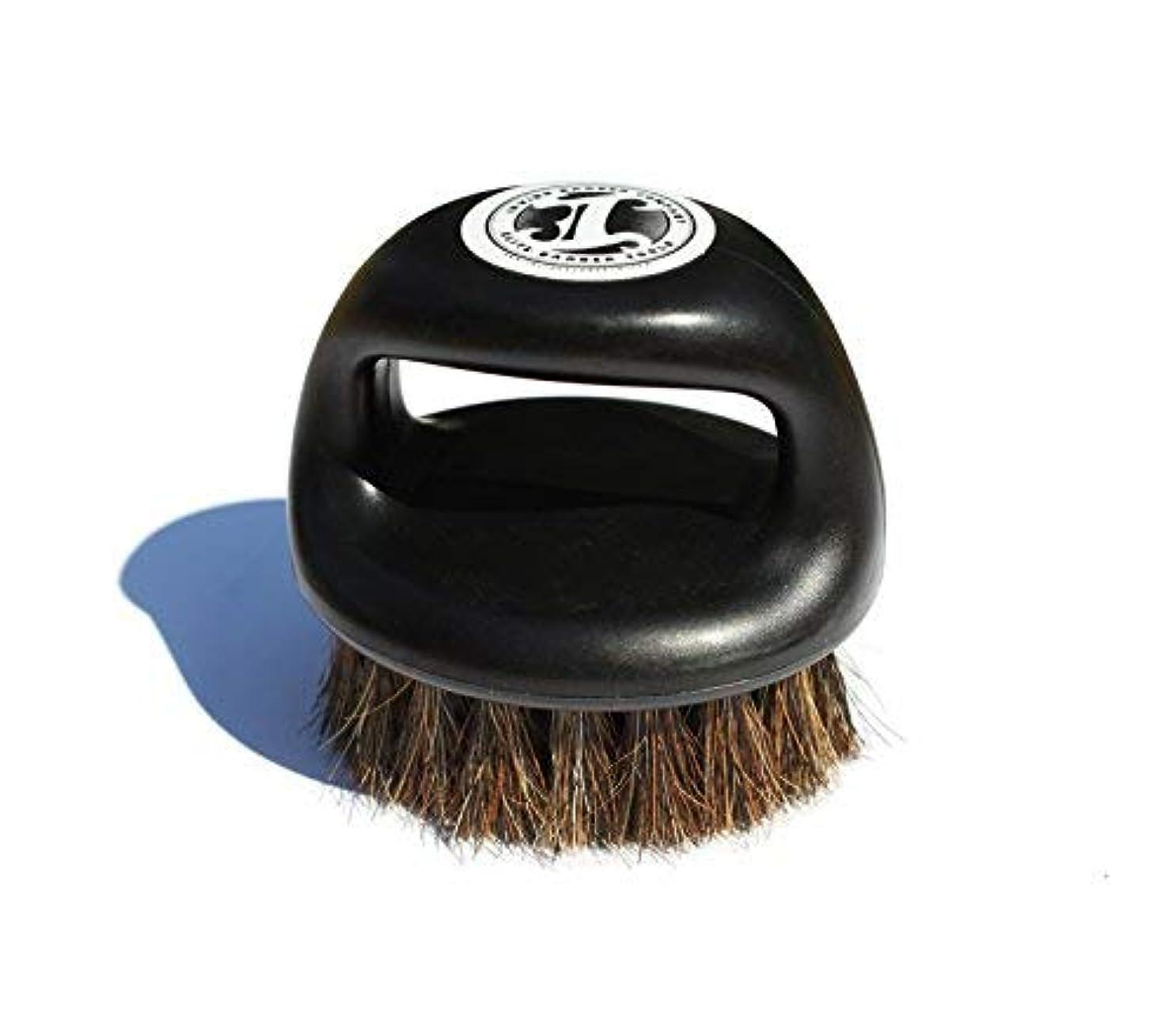 増幅器裏切るヒギンズIrving Barber Company Soft Knuckle Brush Fade Brush [並行輸入品]