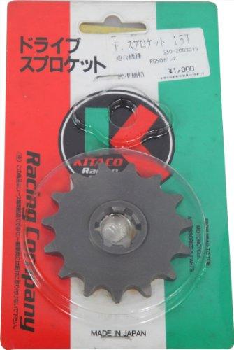 キタコ(KITACO) ドライブスプロケット フロントギヤー 15T RG50ガンマ/ウルフ(TV50) 530-2003015