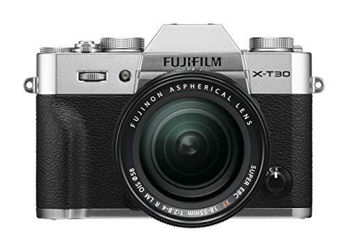FUJIFILM ミラーレス一眼カメラ X-T30レンズキット シルバー X-T30LK-S