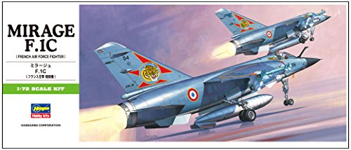 ハセガワ 1/72 フランス空軍 ミラージュ F.1C プラモデル B4