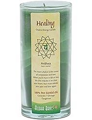 Aloha Bay - Chakraエネルギー蝋燭の瓶の治療の治療 - 11ポンド