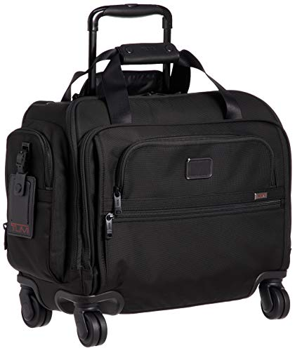 [トゥミ] スーツケース 公式 正規品 TUMI Alpha 3コンパクト・4ウィール・ダッフル 機内持ち込み可 46L 38cm 9.1kg 02203652 02203652D3 Black