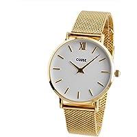 クルース CLUSE レディース 腕時計 CL30010 33mm MINUIT ミニュイ メッシュ ゴールド [並行輸入品]