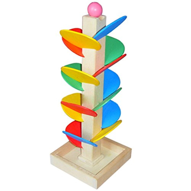 キッズ子供木製教育ボールおもちゃ