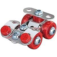 おもちゃ 車 金属 建設車両セット 8働く ねじ止めブロックおもちゃ 3D 立体パズル ミニカー セット 子供向け知育玩具 DIY積み木セット 組み立てる 3D金属モデル 誕生日 クリスマスプレゼント 人気贈り物