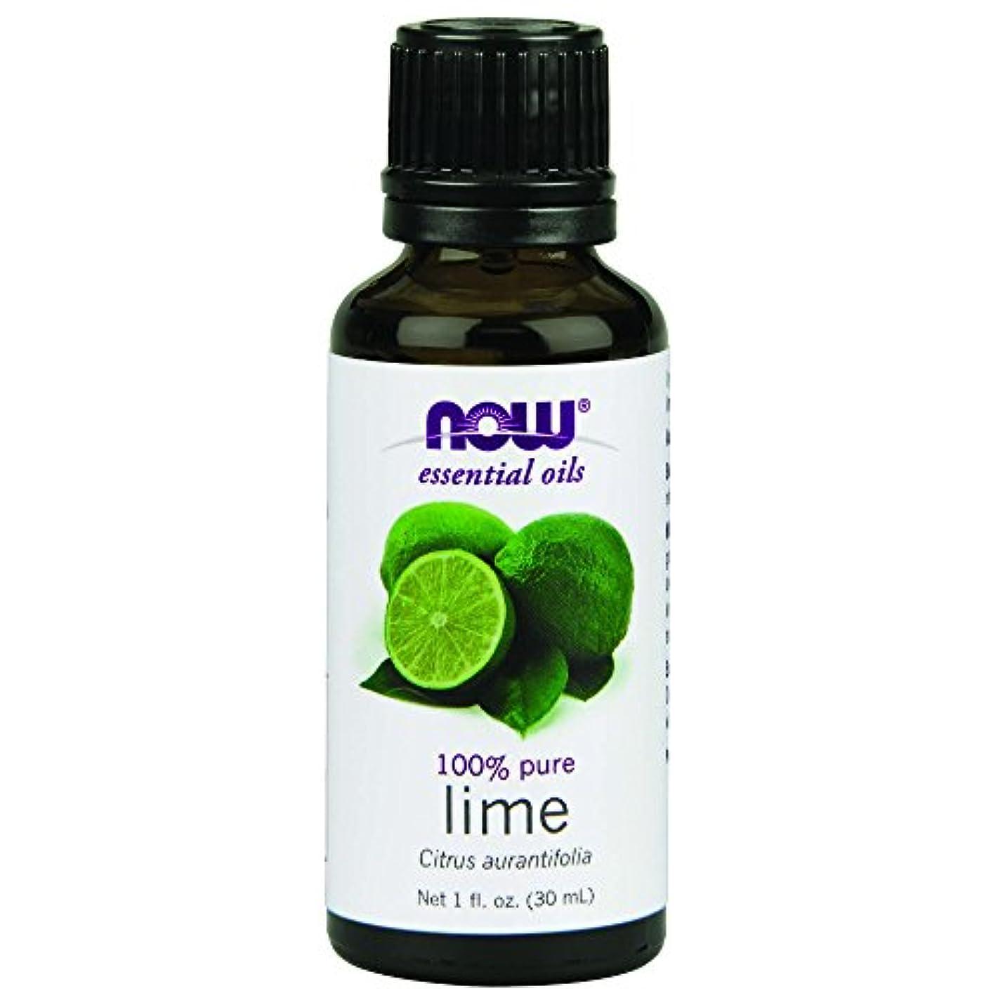 裸隠詐欺師海外直送品Lime Oil, 1 OZ by Now Foods