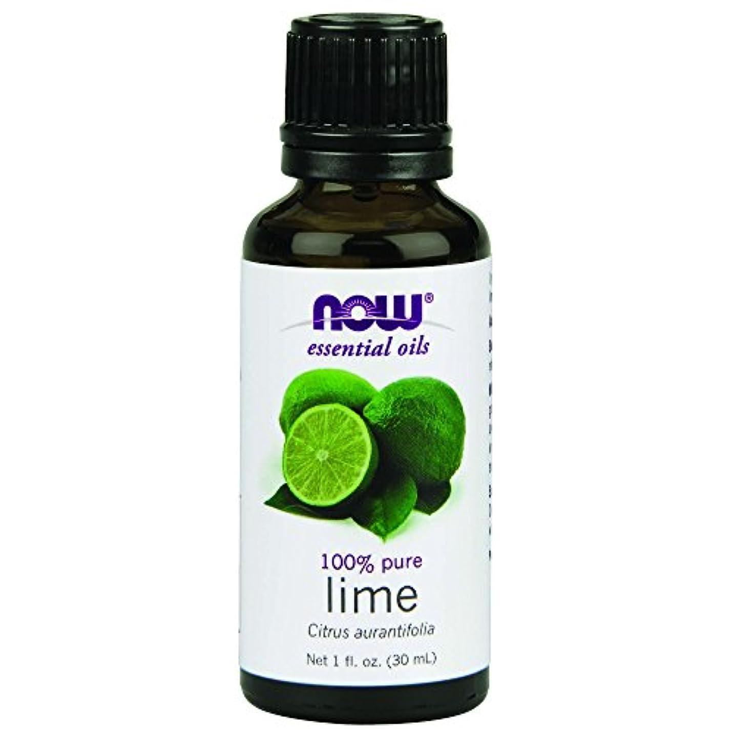 サポートベース登録海外直送品Lime Oil, 1 OZ by Now Foods