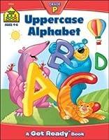 Bulk Buy :スクールゾーン幼稚園ブック32ページ大文字アルファベットszpresch-02065( 3- Pack )