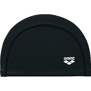 arena(アリーナ) スイムキャップ 2WAYシリコンキャップ フリーサイズ(50~59cm) ARN-6406 ブラック(BLK)