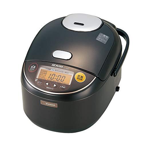 象印 圧力IH炊飯器 極め炊き 黒まる厚釜 ダークブラウン 1升  NP-ZD18-TD