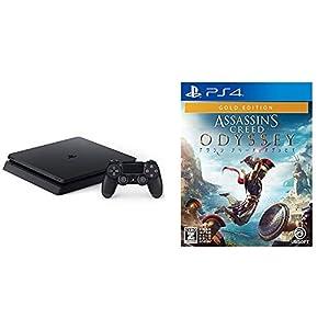 PlayStation 4 ジェット・ブラック 1TB (CUH-2200BB01) + アサシン クリード オデッセイ ゴールドエディション - PS4 セット