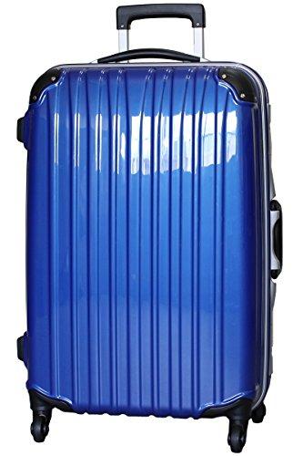 (ビータス) Beatas スーツケース TSAロック 軽量 アルミフレーム ビータス BH-F1000 Mサイズ 鏡面ディープブルー(中型 4日5日6日7日用) 【一年修理保証】【M/DB】SUITCASE