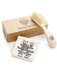 GB KENT メンズ Beard Brush (ビアードブラシ) ひげ用 ブラシ BRD2
