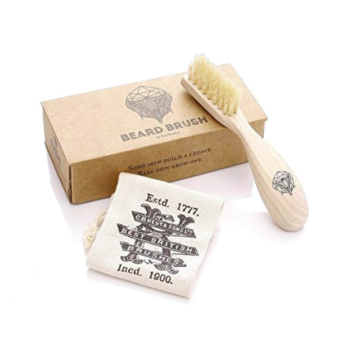 王朝非アクティブ伝統GB KENT メンズ Beard Brush (ビアードブラシ) ひげ用 ブラシ BRD2
