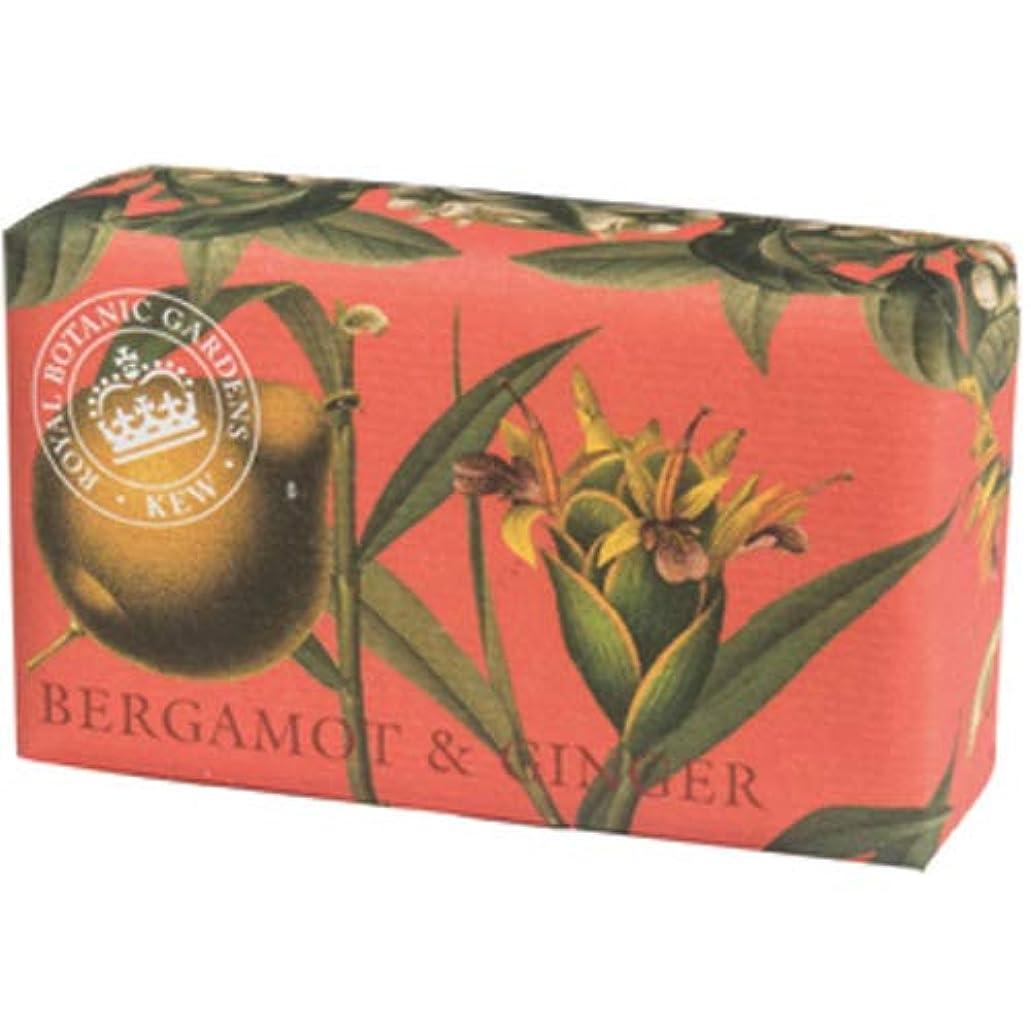 省略するポジティブ誰English Soap Company イングリッシュソープカンパニー KEW GARDEN キュー?ガーデン Luxury Shea Soaps シアソープ Bergamot & Ginger ベルガモット&ジンジャー
