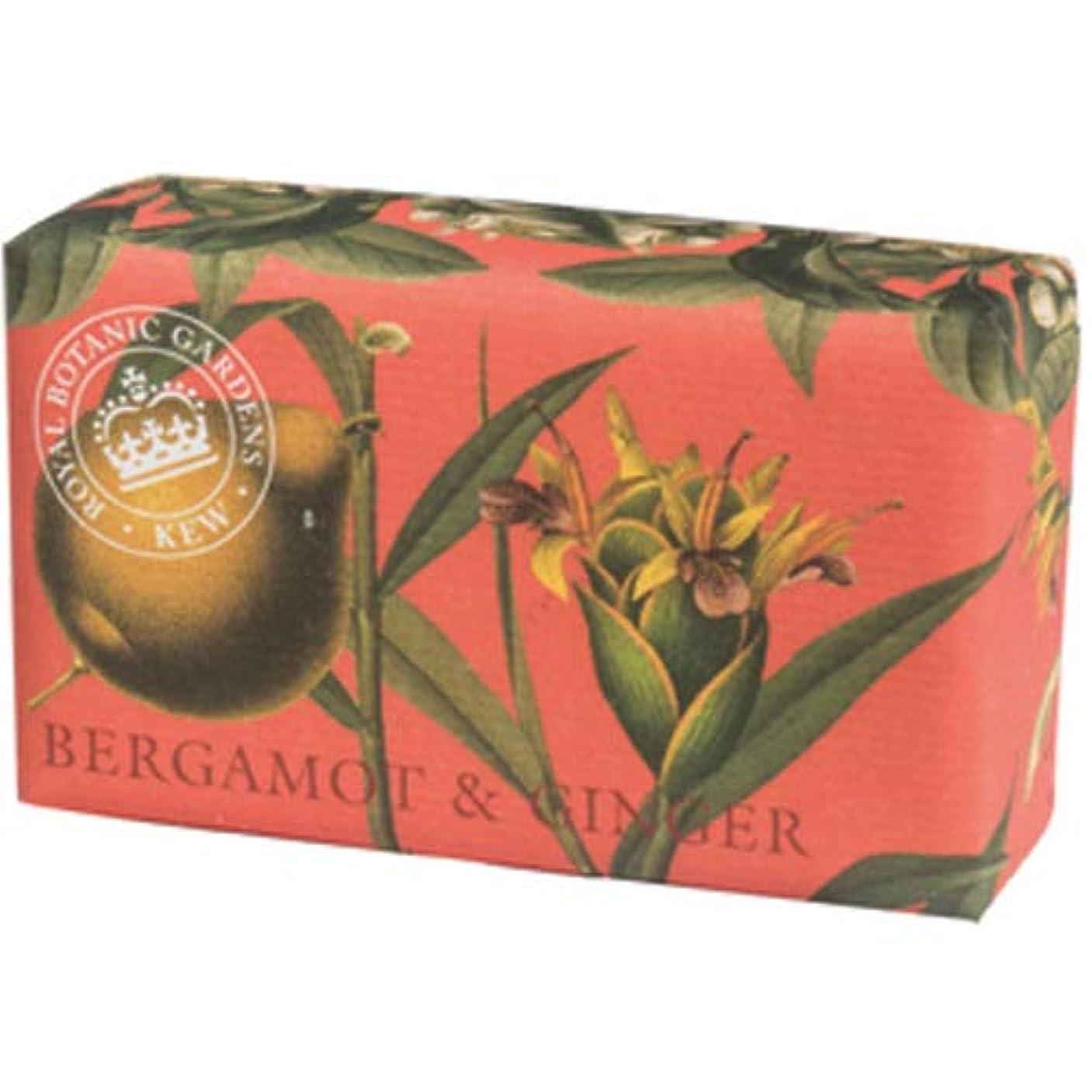 English Soap Company イングリッシュソープカンパニー KEW GARDEN キュー?ガーデン Luxury Shea Soaps シアソープ Bergamot & Ginger ベルガモット&ジンジャー